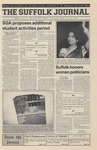 Newspaper- Suffolk Journal Vol. 60, No. 19, 3/28/2001