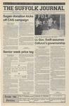 Newspaper- Suffolk Journal Vol. 60, No. 21, 4/11/2001