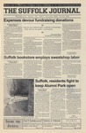 Newspaper- Suffolk Journal Vol. 60, No. 22, 4/18/2001