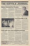 Newspaper- Suffolk Journal Vol. 60, No. 23, 4/25/2001