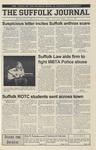 Newspaper- Suffolk Journal Vol. 61, No. 7, 10/24/2001