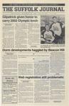 Newspaper- Suffolk Journal Vol. 61, No. 9, 11/14/2001