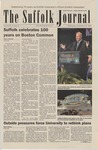 Newspaper- Suffolk Journal Vol. 67, No. 3, 9/27/2006