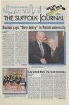 Newspaper- Suffolk Journal vol. 68, no. 18, 3/5/2008