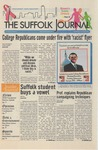 Newspaper- Suffolk Journal vol. 69, no. 4, 10/1/2008