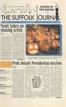 Newspaper- Suffolk Journal vol. 69, no. 7, 10/22/2008