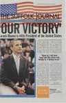 Newspaper- Suffolk Journal vol. 69, no. 9, 11/5/2008