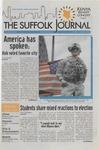Newspaper- Suffolk Journal vol. 69, no. 10, 11/12/2008