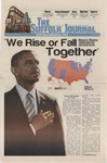 Newspaper- Suffolk Journal vol. 73, no. 8, 11/7/2012