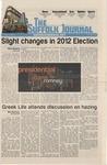 Newspaper- Suffolk Journal vol. 73, no. 9, 11/15/2012