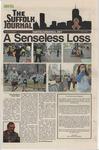Newspaper- Suffolk Journal vol. 73, no. 22,  4/17/2013