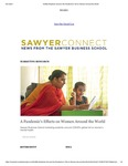 Sawyer Connect: Suffolk Students Uncover the Pandemic's Toll on Women Around the World