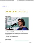 Sawyer Connect: Two Commencements, One Reaccreditation, and a #1 Ranking