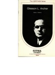 The Heritage Series: Gleason L. Archer by David L. Robbins