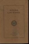Suffolk University Law School Catalog, 1919-1920