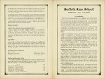 Suffolk University Law School Course Bulletin and Announcements, 1933