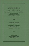 Suffolk University Law School Catalog, 1935-1936