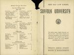 Suffolk University Law School Catalog, 1943