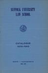 Suffolk University Law School Catalog, 1959-1960
