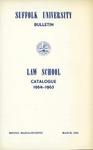Suffolk University Law School Catalog, 1964-1965