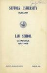 Suffolk University Law School Catalog, 1965-1966