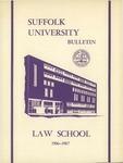 Suffolk University Law School Catalog, 1967-1968
