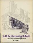 Suffolk University Law School Catalog, 1972-1973