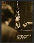 Suffolk University Law School Catalog, 1973-1974
