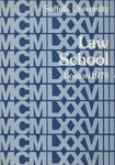Suffolk University Law School Catalog, 1977-1978