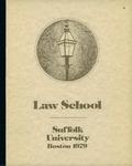 Suffolk University Law School Catalog, 1978-1979 by Suffolk University Law School