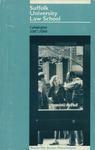 Suffolk University Law School Catalog, 1987-1988 by Suffolk University Law School