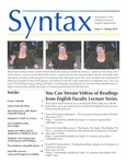 Syntax, Newsletter of the Suffolk University English Department, Issue 4, Spring 2019