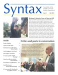 Syntax, Newsletter of the Suffolk University English Department, Issue 5, Fall 2019 by English Department