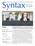 Syntax, Newsletter of the Suffolk University English Department, Issue 7, Spring 2021 by English Department